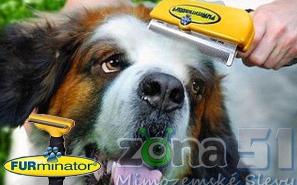 Nový a osvědčený způsob vyčesávání Vašich zvířecích miláčků. Furminator profesionální vyčesávací pomůcka nyní se skvělou slevou. Patentované profesionální hrablo pro psy i kočky.