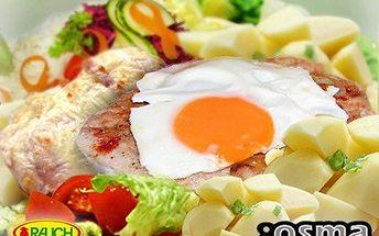 Obrovská bašta v centru Ostravy, předčí očekávání i vaše představy. 50% sleva na DVA přírodní plátky se sázeným vejcem a zeleninovou oblohou ve stylové restauraci 8OSMA.