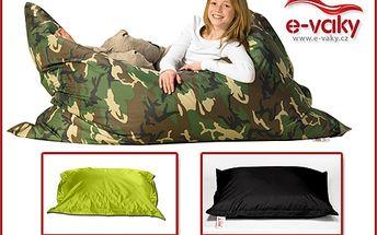 Posaďte se a bavte se! Značkový sedací vak Comfort zn. Sit&Joy s výraznou slevou 68 %. K výběru z šesti barev. Možný osobní odběr v Brně!