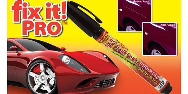 Na co platit tisíce za opravy laku.Opravte si škrábance na autě! Použijte vyzkoušený FIX IT! PRO a je po škrábanci. Cena pouze 99,- Kč i s poštovným (zasíláme doporučeně).