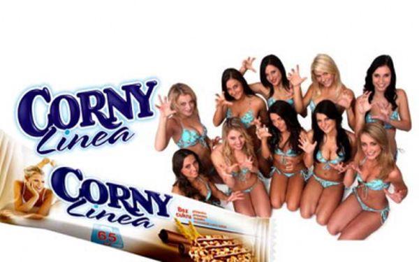 Pro vás všechny, kdo myslíte na svou štíhlou linii, zdraví a dobrou kondici, je určena tyčinka Corny Linea s čokoládou 6x20g, u nás jen za 25 Kč za balení!