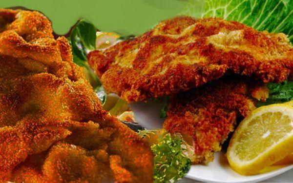 Máte rádi řízky? Nabízíme Vám 600g vepřových a kuřecích řízků v poměru půl na půl. Ideální porce pro 2 až 3 strávníky, nebo domů k obědu. Nyní za 170 Kč! Sleva 50%!