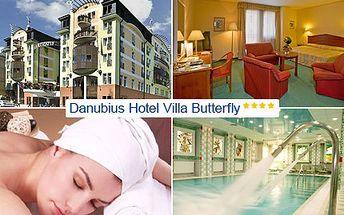 Načerpejte novou energii v jednom z nejkrásnějších lázeňských měst, Mariánských Lázních. 2 noci plné luxusu pro 2 ve Wellness Hotel Villa Butterfly **** s 35% slevou.