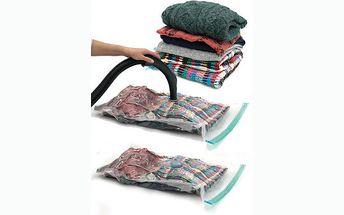 Sleva 73% na revoluční vakuový pytel vacu bag, který ušetří spoustu místa. Stačí z pytle vysát vzduch a je to!!