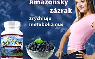Pripojte sa aj Vy k štíhlym potvorám, ktoré si môžu pochutnať na čomkoľvek a nepriberú! Objavte pozitívne účinky Acai Berry - ovocia z Amazonského pralesa. Pôsobí veľmi dobre na zníženie hmotnosti, zrýchľuje metabolizmus a odbúrava tukové bunky.