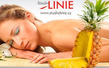 Osvěžující ananasový zábal. Rituál plný vitaminů a minerálů za 199 Kč! Tento tělový zábal z tropického ovoce báječně působí proti předčasnému stárnutí pokožky. Super sleva 61 %!