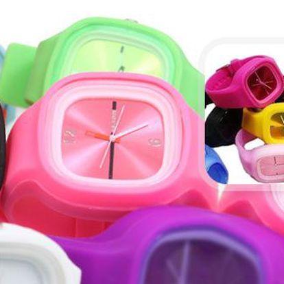 Barevné silikonové hodinky Jelly Square s 56 % slevou! Poštovné je zahrnuto v ceně. Můžete v nich vyrazit do města, na sport nebo na párty. Všude budou vaším stylovým doplňkem a zároveň přesných informátorem.