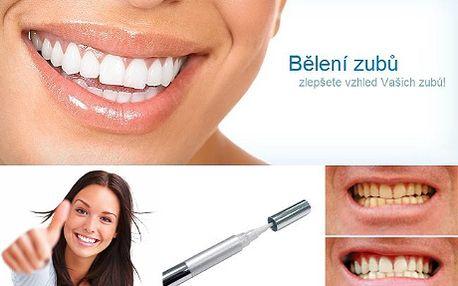 Tužka na bělení zubů jen za 590Kč! Bílé zuby za 1 měsíc! Vyzkoušejte nejpoužívanější metodu bělení zubů v USA pomocí bělící tužky! Atestace lékařskou komorou USA, skvělé výsledky během krátkého používání a jednoduchá aplikace! Sleva 52%