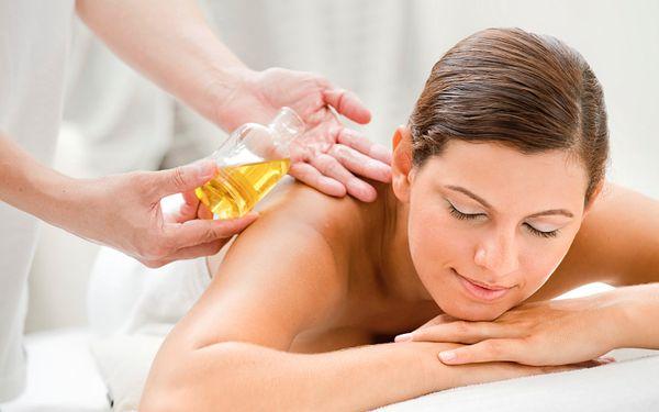 220 Kč za olejovou relaxační masáž v původní hodnotě 450 Kč