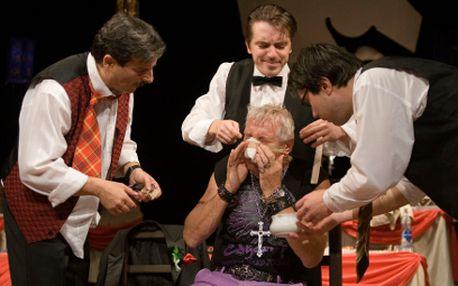 Divadelní představení Testosteron od 60 Kč!