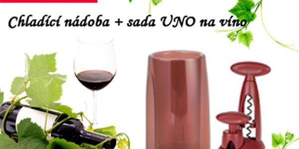 Sada UNO TESCOMA vefektní barvě rudo-červená s dokonalou funkcí a kvalitním designem pro milovníky vína. Nyní za neuvěřitelnou cenu 399,-Kč + 79,-Kč doprava.