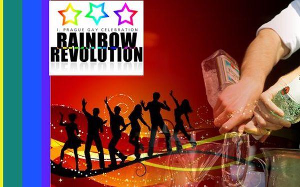Nenechte si ujít velkolepý program a nezapomenutelnou show! Nabízíme vám vstup na jedinečnou party RAINBOW REVOLUTION SHOW s 50% slevou! Přijďte s námi oslavit život gayů ve velkolepém stylu do GOLF YACHT CLUBU jen za 299 Kč!