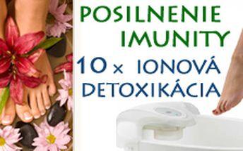 10 vstupov na ionovú detoxikáciu tela v Žiline za 70 €