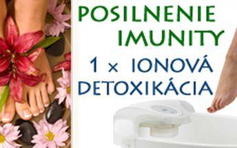 1 vstup na ionovú detoxikáciu tela v Žiline iba za 9 €