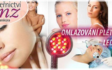 Mladší a krásnější díky kosmetické novince - světelné terapii LED lampou, za neskutečných 125 Kč, v centru Prahy. V ceně navíc sérum, krém a pleťová maska !!!
