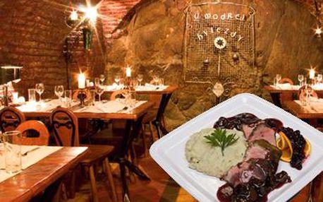 Romantická večera alebo biznis obed pre dvoch v štýlovej reštaurácii pod Bratislavským hradom! Príďte si pochutnať na poriadnej porcii výborného jedla s partnerom alebo kamarátmi v známej reštaurácii Modrá hviezda.