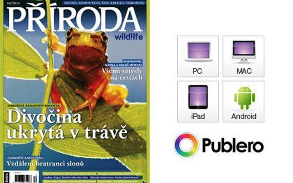 Roční předplatné časopisu Příroda wildlife