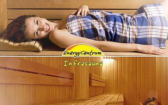 Odpočiňte si a relaxujte zdravě, v infrasauně vám to půjde hravě. 53% sleva na DVA vstupy do infrasauny v libereckém Energy centru.
