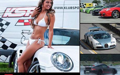 Chcete vidět pořádnou jízdu a možná i Bugatti Veyron?! Vyražte na závod luxusních aut na Autodrom Most! 50% sleva na vstupenku na Soutěžní den sportovních automobilů na Autodrom Most a navíc soutěž o svezení se v závodních supersporťácích.
