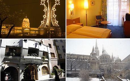 """Čtyři dny ve vánoční Budapešti v hotelu SISI *** . Nenechte si ujít stylové vánoční trhy ve městě přezdívaném ,,Paříž východu""""! Dnes navíc se 40% slevou jen za 2760 Kč!"""