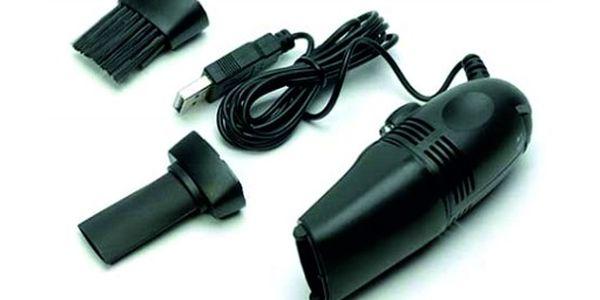 Vysavač jen za 119 Kč? Je to možné!!! Mini USB vysavač vysaje nečistoty z Vaší klávesnice. Levněji to nejde!