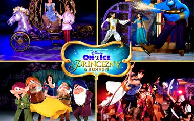 Užijte si se svými dětmi neopakovatelný večer plný oblíbených postaviček Walta Disneyho v nové úchvatné lední revue Disney on Ice - Princezny a hrdinové! Rozzařte oči Vašich dětí a ušetřete 345 Kč!