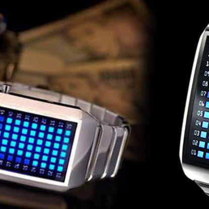Jedinečné LED hodinky jsou právě tím chybějícím unikátním kouskem, který pomůže dotvořit Vaši image do podoby moderní dynamické a úspěšné osoby!! Nyní za skvělou cenu!