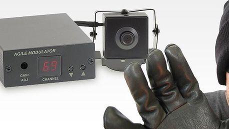 Barevná bezpečnostní kamera pro Váš dům, byt či kancelář s 51% slevou! Vynikající obraz pro sledování okolí vašeho domu i bytu v pohodlí vašeho domova. Kvalitní, moderní a spolehlivé zařízení!
