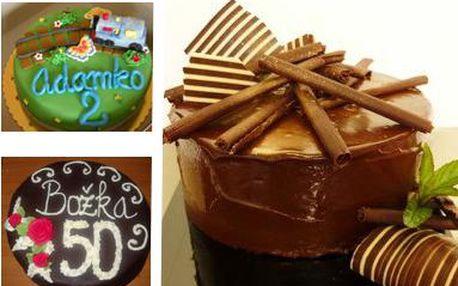 Plánujete oslavu? Alebo chcete niekomu urobiť radosť niečím sladkým a zároveň krásnym na pohľad? Vybrať si môžete detskú, príležitostnú, ovocnú alebo čokoládovú ručne zdobenú tortu. Urobte radosť svojim najbližším.