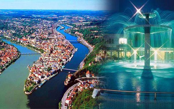 Pro velký zájem přidáváme druhý bus! Město tří řek Passau a lázně Bad Füssing – největší lázně Evropy se třemi termálními prameny již 8. října 2011 s odjezdem z Prahy.