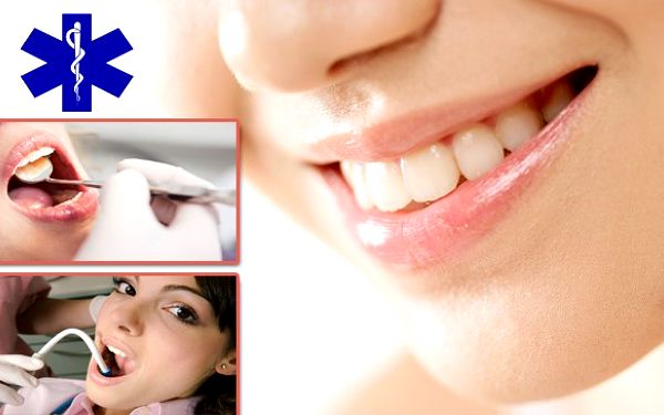 SUPER NABÍDKA! Za 499 Kč můžete nyní mít kompletní dentální hygienu nebo-li vyhodnocení stavu dásní, odstranění plaku, zubního kamene a případných pigmentací + instruktáž čištění a individuální přístup ve výběru vhodných dentálních pomůcek!