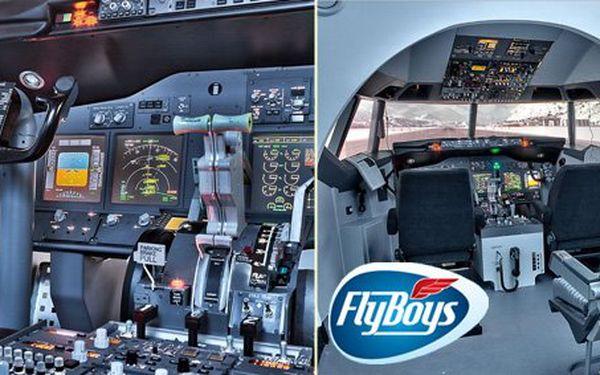 875 Kč za 75minutový let reálným simulátorem Boeingu 737 nebo vrtulníku Robinson R22. Start, let a přistání za účasti instruktora. Staňte se pilotem s 55% slevou!