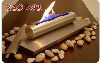 Stolní BIO KRB - barva Silver, krásný doplněk a design pro Váš interiér. Vhodné i pro restaurace, bary, kavárny,showroom...
