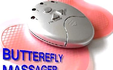 Masážní motýlek - účinné elektrodové posilování a masáž svalů
