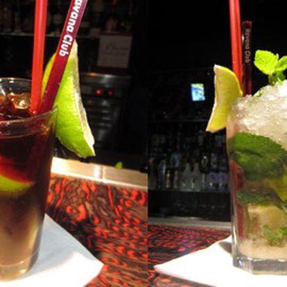 Neuvěřitelných 89 Kč za 2 oblíbené drinky Cuba Libre nebo Mojito v Music clubu Modona! Přijďte se osvěžit nejoblíbenějšími koktejly na světě! Řekněte o akci i svým přátelům a udělejte si u nás pořádnou koktejl párty!