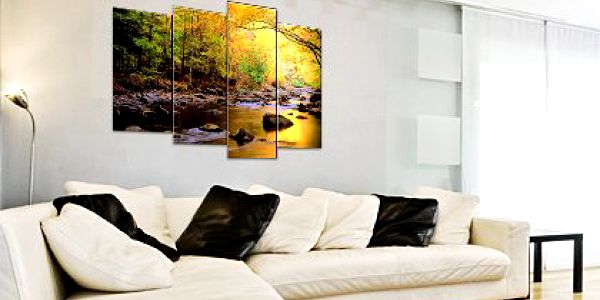 Čtyřdílný obraz na plátně 70×100 cm – originální čtyřdílný fotoobraz na plátně, výběr z 260 motivů