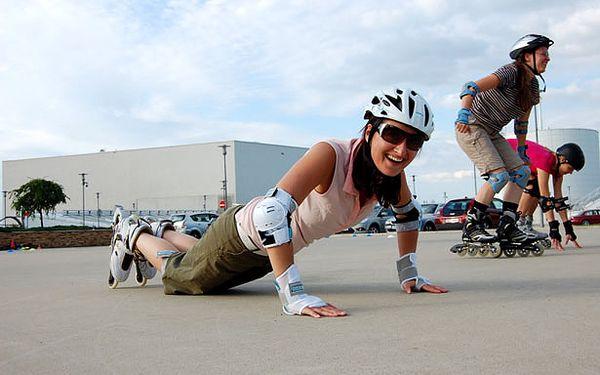 Lekce INLINE bruslení pro dospělé i děti za pohodových 140 Kč! Pondělí 10.10.2011 v Ostravě