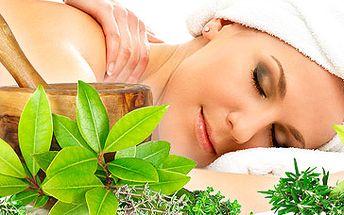 425 Kč za podzimní tymiánové ošetření! Peeling tymiánovým scrubem, masáž tymiánovým olejem, zábal marocké černé mýdlo tymiánové! Užívejte si 90 minut naprostého relaxu s 50 % slevou!