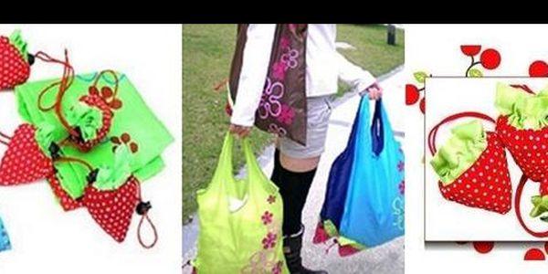 Nakupuj stylově! Získej 3 nádherné a praktické nákupní tašky Jahůdka jen za 99,- Kč! Užívej si nakupování jako pravá dáma díky dnešní 67% slevě!