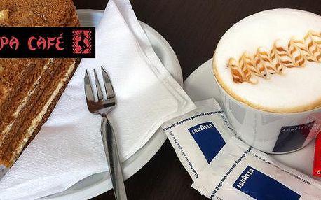 Jen 40 Kč za lahodné cappuccino a medovník v kavárně EPUPA CAFÉ v centru Zlína! Jste nekuřáci a máte rádi ke kávičce něco na zub? To je pro Vás naše kavárna to pravé místo k relaxaci a posezení.