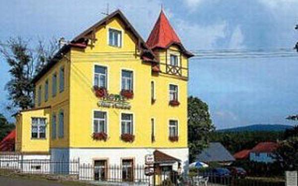 Krásný pobyt v hotelu Villa Rosse v Krušných horách za super cenu!