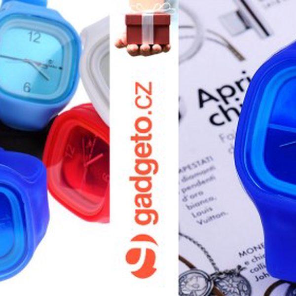 UNISEX silikonové hodinky Square s analogovým vyměnitelným ciferníkem za opravdu fantastickou cenu 99 Kč! Nakombinujte si barvy podle své chuti. Elegantní i sportovní look. Trendy doplněk, který rozhodně musíte mít! Lehké, odolné a pružné. Skvělý TIP na vánoční dárek!