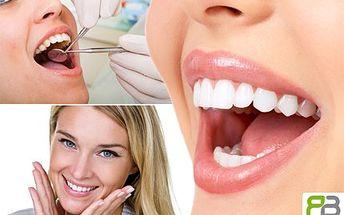 Chcete mít krásný a zdravý chrup? DENTÁLNÍ hygiena vám zajistí zářivý úsměv co by dup. 50% sleva na kompletní dentální hygienu a konzultaci s odborníkem v RB Dent s.r.o.