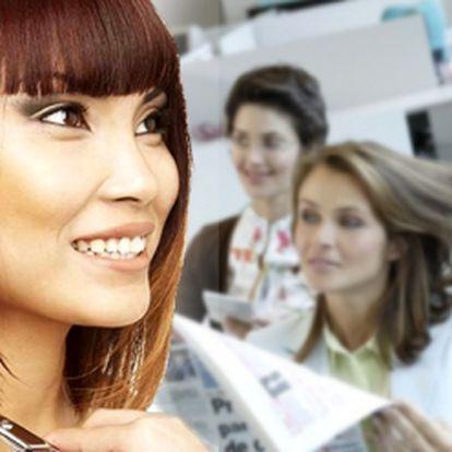 Salon Glamour Vám přináší kadeřnický balíček se slevou 57%! Mytí vlasů, 10 min. maska, střih a foukaná se stylingem za 119 Kč! Přijeďte si do Přelouče pro novou image!