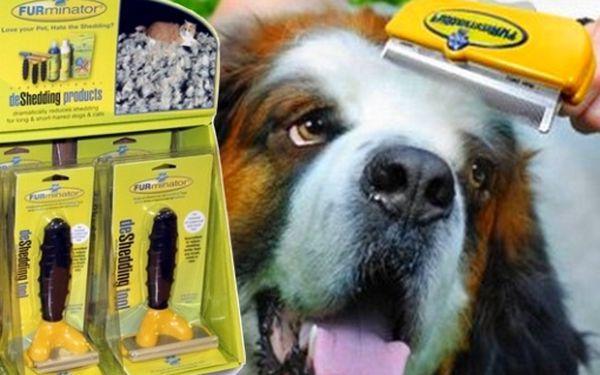 Konec línající srsti Vašich mazlíčků, tento skvělý produkt, patentovaný Furminator, Vám i Vaším mazlíčků zpříjemní společné žití. Profesionální pomůcka s neuvěřitelnými účinky. Skvělý produkt.