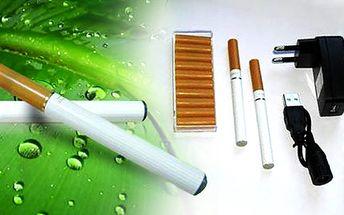 Odnaučte se kouřit! Za cenu pěti krabiček získáte 2x elektronickou cigaretu za bezkonkurenční cenu! Zakuřte si třeba i v letadle! S elektronickou cigaretou můžete!