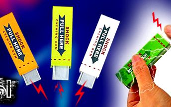 Šokující žvýkačka! Udělejte si z kamarádů a přátel srandu a nabídněte jim neodolatelnou žvýkačku - SHOCKING GUM