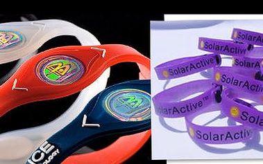 EXTRASLEVA 93 % na 3x náramky Power Balance + 3x náramky UV Detector. Náramky vytváří pozitivní fyzickou a psychickou náladu a chrání před UV zářením!