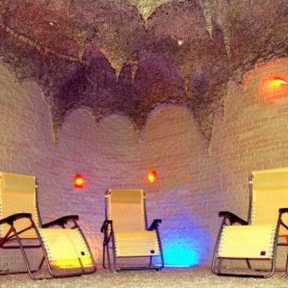 2 vstupy do solné jeskyně – 2×45 minut relaxace v solné jeskyni + až 2 děti do 6 let vstup zdarma. Solný chrám Letňany