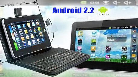 """7"""" Android 2.2 VIA 8650 Tablet PC - poštovné v ceně ! ! ! Držte krok s dobou a pořiďte si skvělý Tablet na cesty!!"""